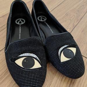 WISHBONE - glitter loafers